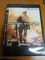 Call of Duty: Modern Warfare 2 (PlayStation 3, 2009)(Tested)