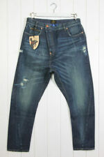 Distressed High Rise 32L Men's Tapered Jeans