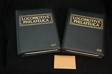 Locomotive Philatelica Club Loco Stamp Collection - Two volumes