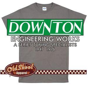 Downton Engineering Classic Car T Shirt A Series Tuning Mini Morris Leyland