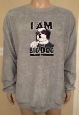 """Vintage Big Dogs Polar Dogs """"I Am The Big Dog"""" Fleece Like Sweater Size XXL 2XL"""