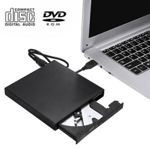 External Drive DVD CD RW Disc Reader CD Music Burner Mobile Combo Drive USB 2.0