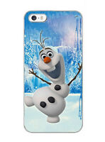 Disney Frozen Elsa Olaf Collage hard back phone case for iphone SE i4 i5 i6 S6