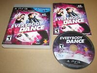 Everybody Dance for PlayStation 3 Move PS3 Complete Fast Shipping