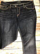 "Silver Tuesday 16 1/2"" Women's Blue Jeans Size W27 L31"