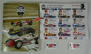 2021 Program New W/ Line-Up Insert 105TH Running Indianapolis 500 In Stock