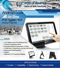 3nStar Android Fanless All-in-One Point Of Sale System 15.6″ (Pta0156-28) New