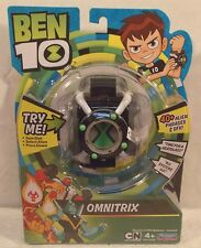 BEN 10 Electronic Omnitrix Wrist Roleplay Watch 40+ Phrases & Sounds 2017 (MISP)