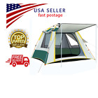 2-3 People Fully AUTOMATIC SET UP TENT With 3 Windows UV Resistance Large Family