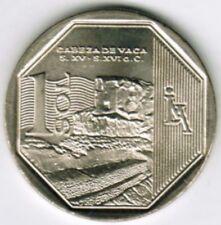 Peru 2016 Coin 1 Nuevo Sol Orgullo y Riquezas Cabeza de Vaca