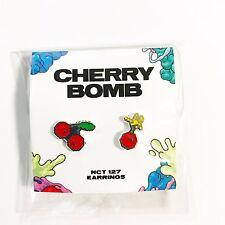 SM TOWN NCT127 3rd Mini Album Cherry Bomb Official Earring Set