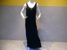 SARAH PACINI jolie robe noire longue one size