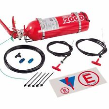Lifeline 2.25L AFFF Racing Fire Extinguisher Bottle System Manual Pull Cable