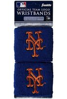 Brand New New York Mets Wristbands Sweatbands Two Pack Blue MLB