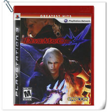 PS3 DMC DEVIL MAY CRY 4 SONY PlayStation Action Adventure Games Capcom