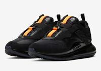 Nike Air Max 720 Slip OBJ Odell Beckham Black/Orange DA4155-001 Men's Size 8-9
