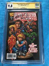 Heroes Reborn: The Return #1 - Marvel - Cgc Ss 9.8 - Signed by P David, Larroca
