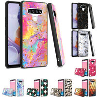 For LG Stylo 6 Case Hybrid Slim Protective Shockproof Heavy Duty Phone Cover