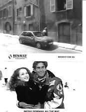 """Gruppo di 3 RENAULT CLIO 16V """"Nicole"""" Pubblicità Stampa Foto """"opuscolo"""" correlati"""