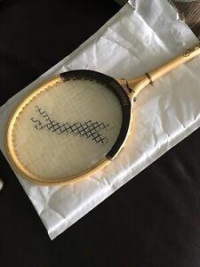 Vintage Wooden Squash Racket - The Whippet By Slazenger