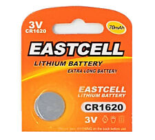 1 x CR1620 3V Lithium Knopfzelle 70 mAh ( 1 Blistercard a 1 Batterie ) EASTCELL