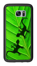 Gecko Shadows On Leaf For Samsung Galaxy S7 G930 Case Cover by Atomic Market