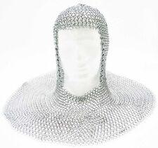 Camaglio in maglia di acciaio indossabile