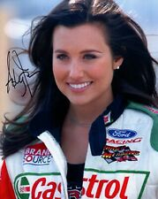 ASHLEY FORCE HAND SIGNED 8x10 COLOR PHOTO+COA           GORGEOUS NHRA DRIVER