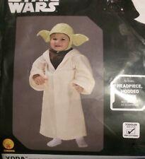 Rubies 510147 Star Wars YODA Toddler Child Romper Costume 3T-4T NEW