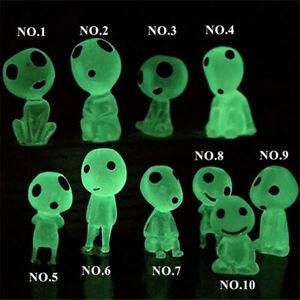 10/20PCS Luminous Garden Ghost Miniature Figurines Fairy Garden Ornaments HOT