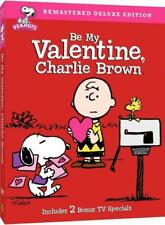 BE MY VALENTINE, CHARLIE BROWN NEW DVD