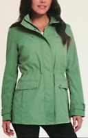 Weatherproof Womens Anorak Jacket With Hood Seafoam Green L Large