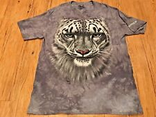 The Mountain Snow Leopard 3D Graphic T-shirt  BROOKFIELD ZOO Jeremy Paul Size XL