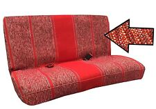 Saddle Blanket Bench Seat Cover Baja Woodge   Cars & Trucks Red-- C-39