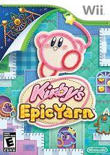 Kirby's Epic Yarn - Nintendo  Wii Game