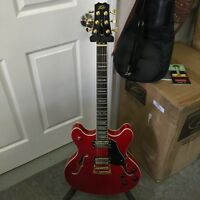 Peavey JF-1 Hollow Body Electric Guitar Red