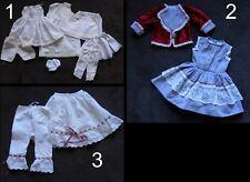 Vêtements poupée ancienne bébé Jumeau SFBJ Steiner Kestner antique doll clothes