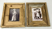 """Framed Western Decore Photographs, Lot of 2, 11"""" x 9"""""""