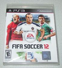 FIFA Soccer 12 for Playstation 3 Brand New! Factory Sealed!