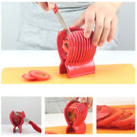 Tomato Lemon Pear Slicer Cutter Chopper Salad Fruit Kitchen Utensil Tool Red