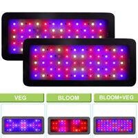 2x 600W Led Grow Light Kits Full Spectrum Lamp Veg/Bloom For Greenhouse Tents UL