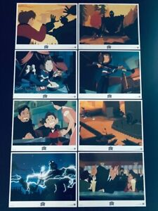 """Original The Iron Giant US Lobby Card Set of 8 (11"""" x 14"""")Mint Condition 1999"""