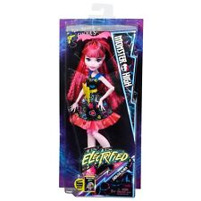 Mattel-monster high électrifié hair raising goules-draculaura-neuf