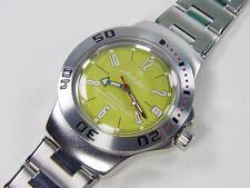 NEW ! Automatic amphibian watch VOSTOK. 200m WR. 2416b. 060278. Yellow dial.