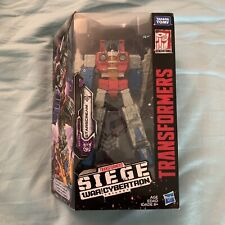 Transformers Siege War For Cybertron Starscream New Free Shipping