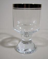 Ingrid Glas Rortweinglas Weinglas Platinrand Ingridhütte Euskirchen