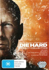 Die Hard Legacy Collection BRAND NEW Region 4 All 5 Movies DVD