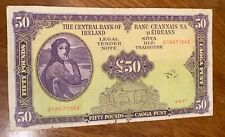 LADY LAVERY 1977 £50 BANK NOTE
