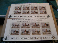 United Kingdom Waterfowl Conservation Issue 1991 Castle Reach-European Wigeon