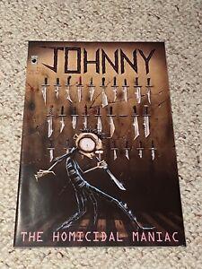 JHONEN VASQUEZ Signed JOHNNY THE HOMICIDAL MANIAC #1
